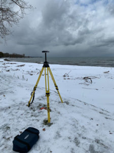 Lake Erie Boundary Survey